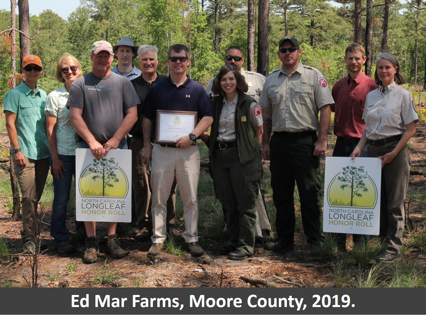 Photo of 2019 Honor Roll Recipients: Ed Mar Farms